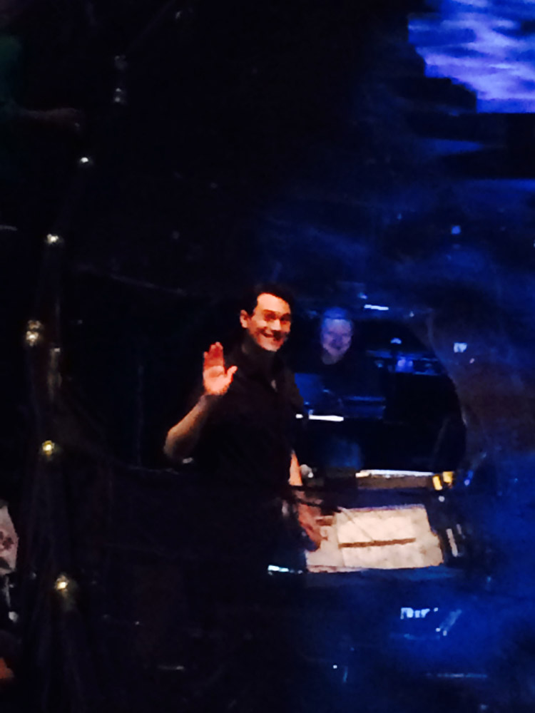 Dan - Wicked orchestra pit