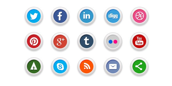 Social Networks icons
