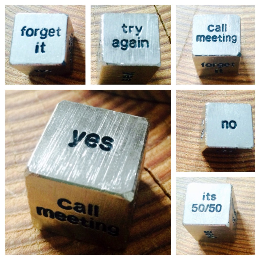 When To Say No | Decision Making 6-sided Die