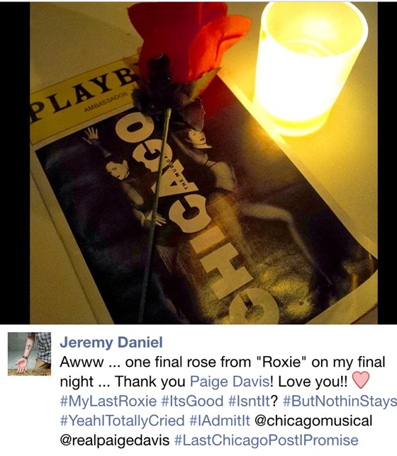 Jeremy's Rose from Roxie