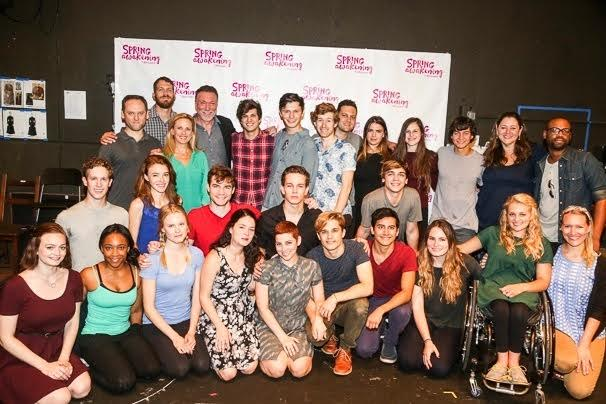 The new cast of Spring Awakening.